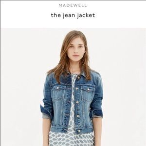 Madewell Jean Jacket XS